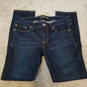 Express Stella Low Rise Skinny Jeans Size 6S